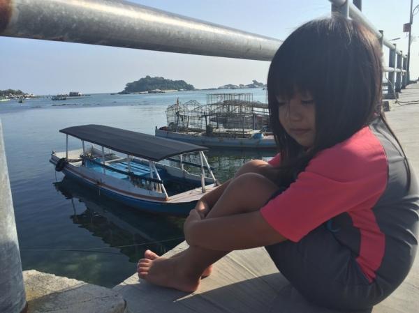 Avi di Pantai Tanjung Kelayang Belitung