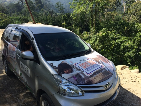 Jalan Sangat Rusak di Sumatera Utara